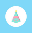 birthday hat icon sign symbol vector image vector image