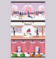concept of woman fragrance shoes and bags and vector image