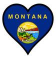 love montana vector image vector image