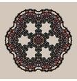 Mandala Stylized tribal art Ornate lace medallion vector image