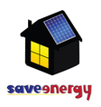 save energy vector image