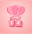 14 february valentines day festival vector image vector image