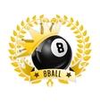 Design Billiards pool and snooker sport vector image vector image