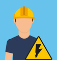 electrician concept vector image