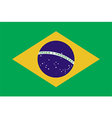 Flags of brazil vector image vector image