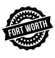 Fort Worth stamp vector image