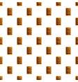 garibaldi biscuit pattern seamless vector image vector image