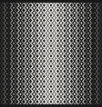 halftone geometric seamless pattern with diamond vector image