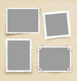 old victorian image frames vintage photo borders vector image vector image