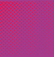 pink halftone diagonal ellipse pattern background vector image vector image