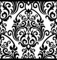 seamless oriental pattern vintage floral vector image