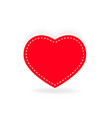 simple heart isolated vector image