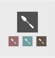 spoon icon simple vector image