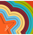 Colorful background with stripes vector image