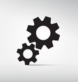 Abstract Cogs - Gears Symbols - Icons vector image vector image