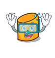 diving rigatoni character cartoon style vector image vector image