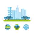 energy renewable ecology vector image vector image