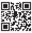 qr code payment for product mock up vector image