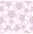 seamless pattern all cherry blossom vector image