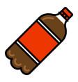 soda pop bottle vector image vector image