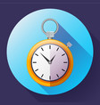 stopwatch icon symbol race of vector image vector image