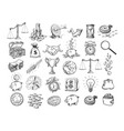 big business set vector image vector image