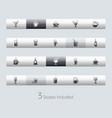 drinks - toolbars vector image