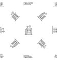 intelligent building pattern seamless vector image