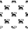 Panther icon in black style isolated on white vector image vector image