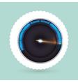 speed icon design vector image vector image
