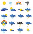 weather symbol vector image