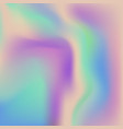 abstract holographic background vector image vector image