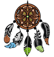 Dream Catcher Protection vector image vector image