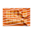 hello summer on orange fabric texture vector image vector image