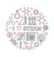 I love steam creative linear round