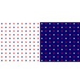 stars background stars in blue red and white color vector image