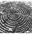 Tree stump dark abstract background vector image