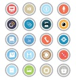 Web icons 42 vector image vector image