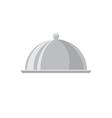 Food tray simple icon vector image