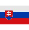 national symbol of slovakia flag vector image
