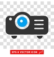 Projector Eps Icon vector image