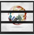 Colorful Globe Design vector image vector image