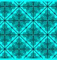 elegant seamless pattern with ornate black motif vector image vector image