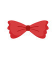 men bow tie accessory fashion vintage classic vector image