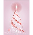 Modern Christmas Card vector image vector image