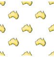 territory of australia icon in cartoon style vector image vector image