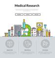 Medical Web Page vector image