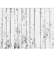 Black and white old wooden texture vector image