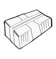 parcel vector image