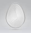Abstract concentrical egg background